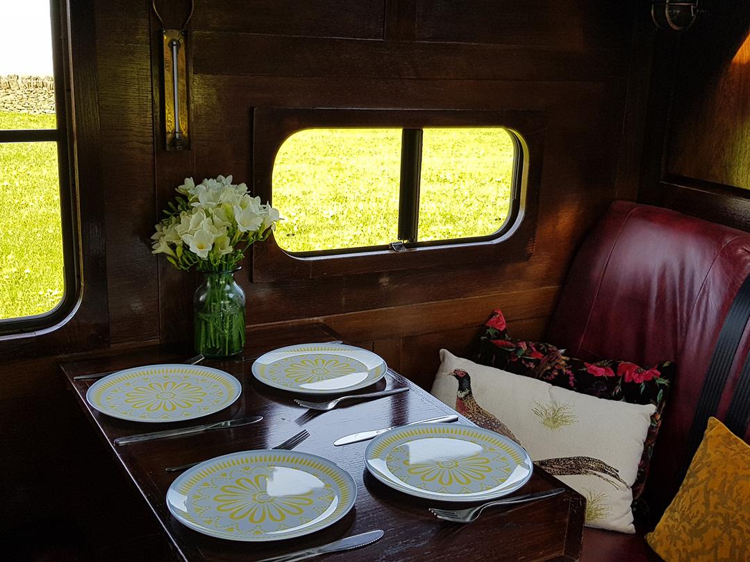 camper van hire uk - camper interior