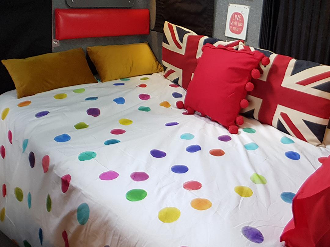 campervan hire uk - camper interior