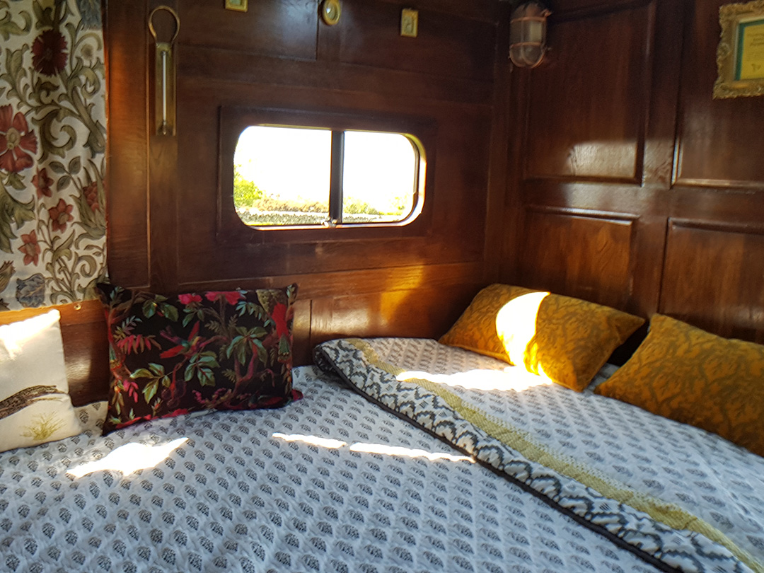 luxury campervan hire interior