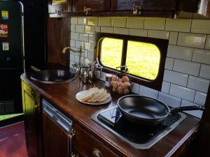 camper van kitchen