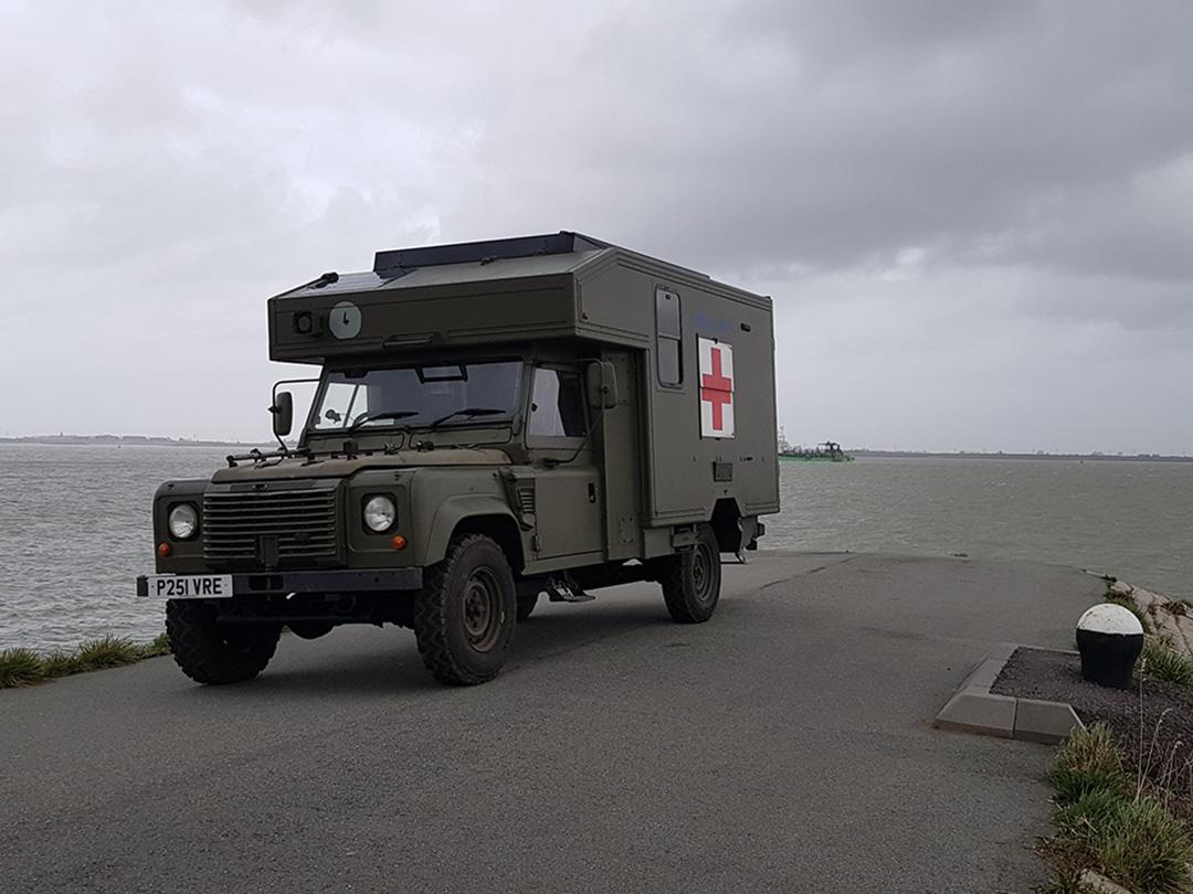land rover camper exterior
