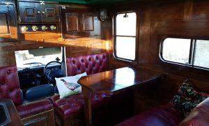 Land Rover Camper Interior