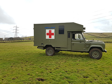 Land Rover Ambulance Campervan
