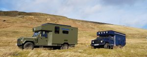 Land Rover Campers