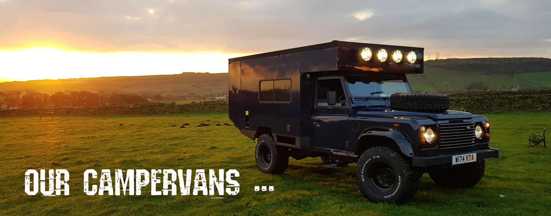 Land Rover Defender Campervan Hire UK