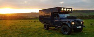 4x4 Hire Land Rover Defender Campervan