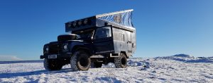 4x4 Hire: Land Rover Defender Campervan