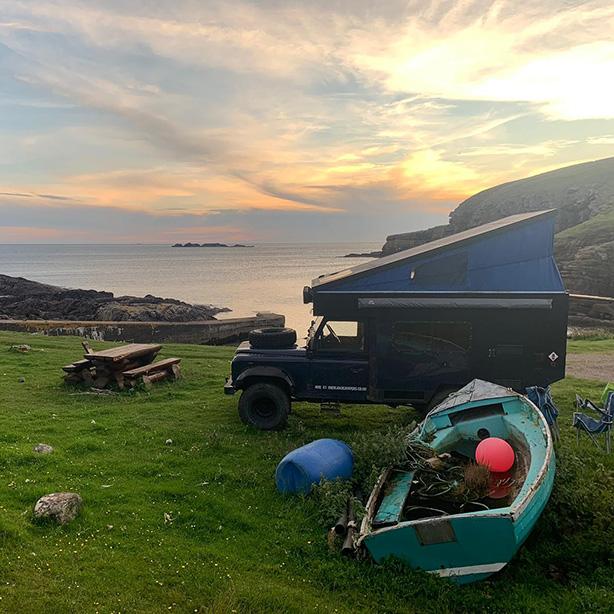 camper van hire scotland
