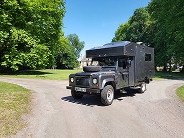 Land Rover Campervan Hire UK