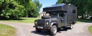 Land Rover Ambulance Camper Van