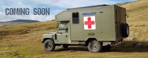 land rover camper hire - van exterior