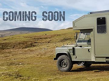 Land Rover Ambulance Campervan Hire